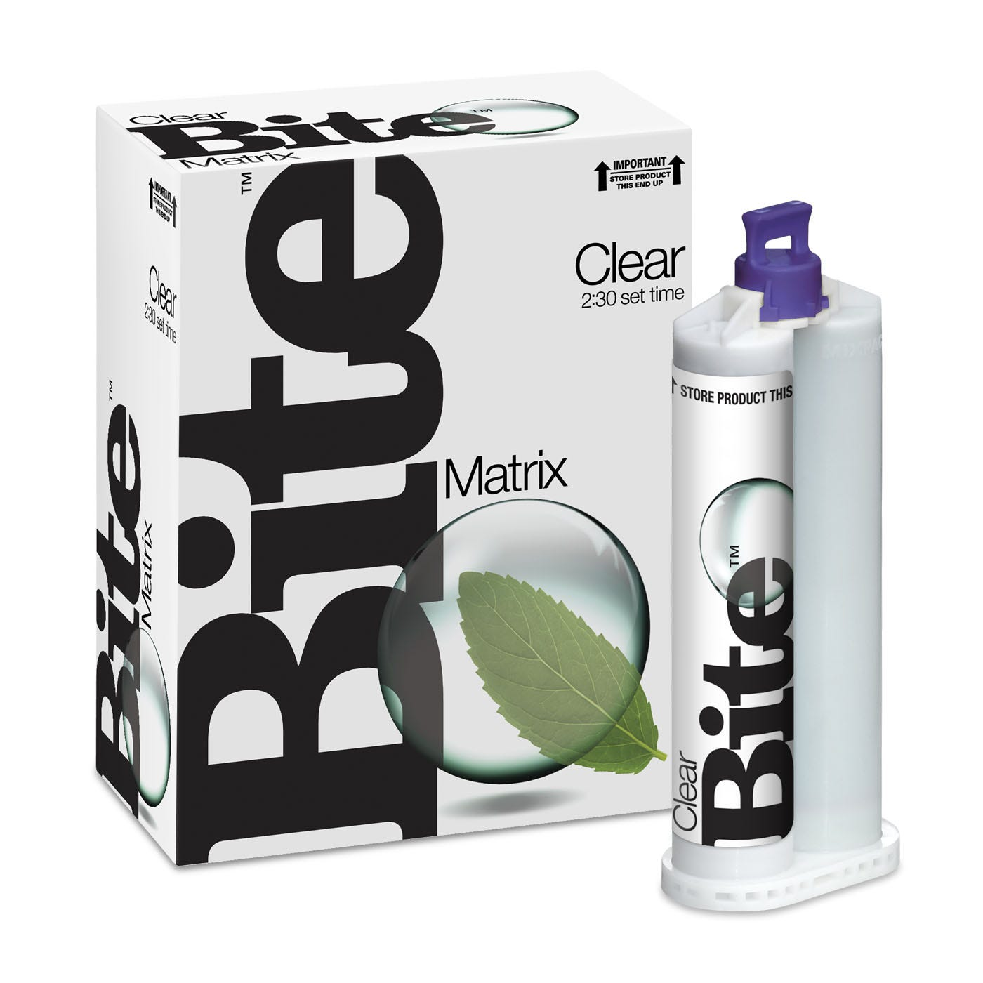 Dental Bite Registration Material - Clear Matrix