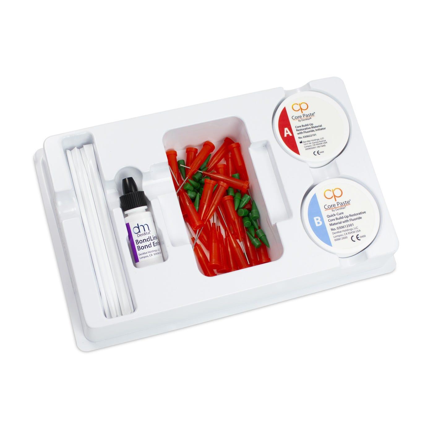 Dental Core Build-Up - Core Paste Jars White Quick Set Kit