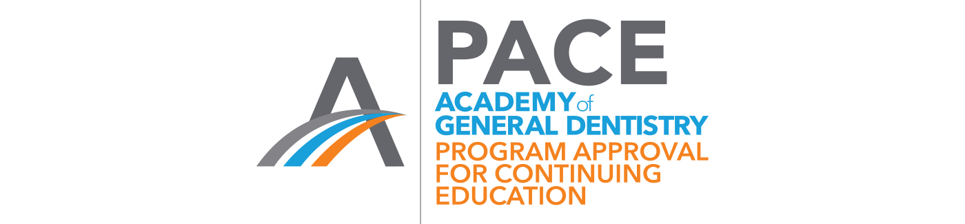 DenMat Education is designated as an Approved PACE Program Provider by the Academy of General Dentistry