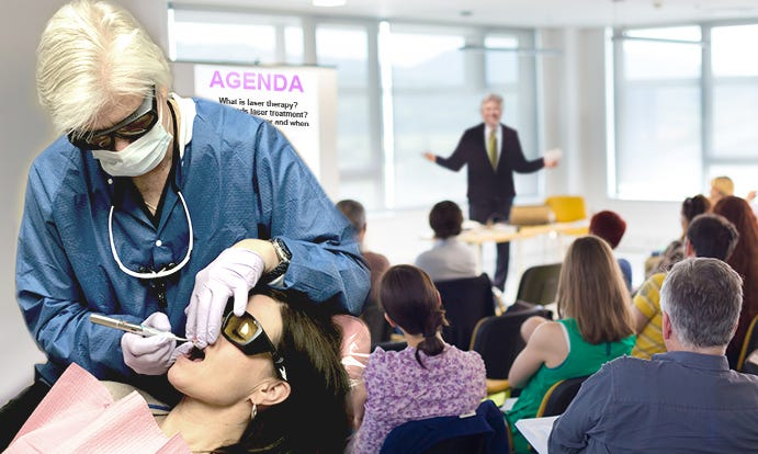 Dental Education Course - Dental laser procedures and techiques - learn how to incorporate dental lasers into your dental practice
