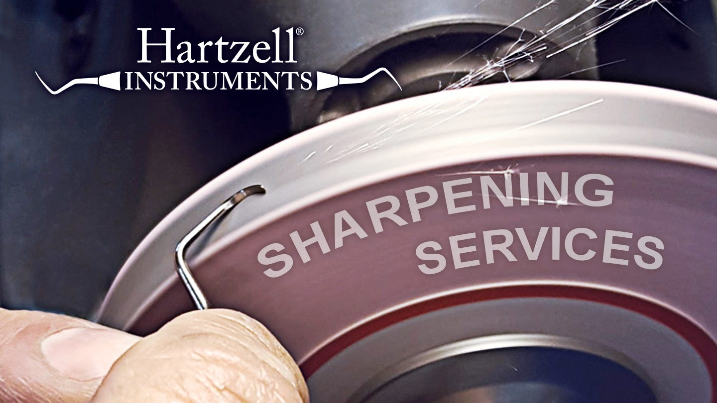 Keep your dental instruments sharp!